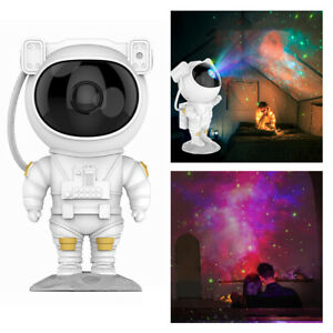 LED Astronaut Projector Light USB Starry Night Light Bedside Table Lamps Gifts