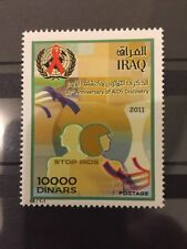 Iraq Top Value 2011 Stamps AIDS Discovery MNH HIV