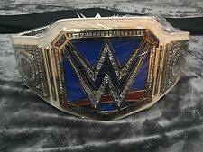 WWE WOMENS SMACK DOWN CHAMPIONSHIP WRESTLING BELT WWF TITLE ADULT SIZE FAST S&H