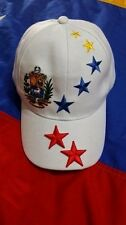 Venezuela Gorra Blanca Flag Cap Hat Unisex Wholesale And Retail (((7 Stars)))