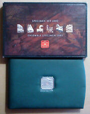 CANADA 2003 ESTUCHE OFICIAL PROOF SPECIMEN SET 7 MONEDAS
