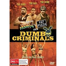 BRAND NEW Dumb Criminals - The Movie (DVD, 2015) Housos Fat Pizza