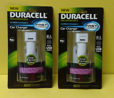 Duracell PRO209 Dual USB 2.1 Amp Car Charger, iPod iPhone iPad Samsung Motorola