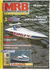 MODELE REDUIT DE BATEAU N°399 LE DIABOLO ROBBE / PHOTOGRAVURE ET PHOTODECOUPE
