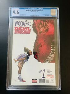 Moon Girl Devil Dinosaur 1 CGC 9.6 1st Moon Girl Luna Lafayette Key Marvel Comic