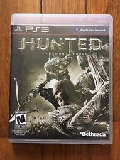 Hunted: The Demon's Forge (Sony PlayStation 3, 2011) Complete