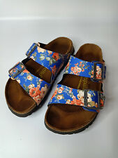 Birkenstock papillio ARIZONA Flora Women Summer Trend Sandals Shoe Sz 37 L6 M4