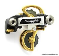 CAMPAGNOLO SUPER RECORD Titanium bolts REAR MECH DERAILLEUR GEAR GOLD PLATED