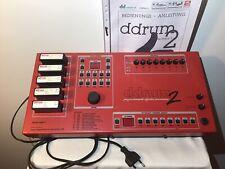 Clavia DDRUM 2 Vintage Drumcomputer Model 3 Digital Musical Instruments AB