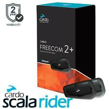 Cardo Scala Rider Freecom 2 Plus Duo Motorcycle Bluetooth Intercom