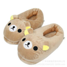 Lazy Rilakkuma Cartoon Slippers Warm Couple Indoor Floor Cotton Shoes Size35-42
