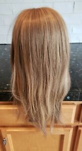 """Amore Rene Of Paris 18"""" Monofilament 'Stevie' Wig Honey Wheat New Without Tags!"""