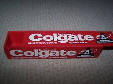 Vintage Colgate Plastic Box.