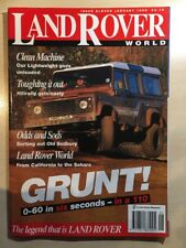 LandRover World January 1995 Issue 11