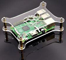 Transparentes Acrylgehäuse Durchsichtiges Gehäuse für Raspberry Pi 3/2 & B + FT