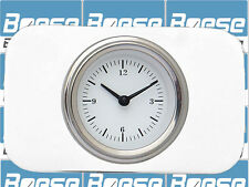 37-38 Chevy Car Billet Aluminum Clock Insert w/ Classic Instruments White Hot