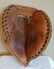 "Vintage ""COOPER WEEKS"" 25th Anniversary Leather Stamped BaseBall Glove"