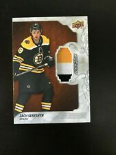 2019-20 Upper Deck Engrained Zach Senyshyn Patch Rookie 3 color Bruins /35