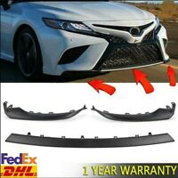 Front Bumper Side Lip Cover Lower Molding Trim For Toyota Camry SE XSE 2018-2020