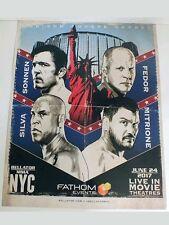 SONNEN SILVA FEDOR MITRIONE 16x20 NEW POSTER UFC BELLATOR MMA NYC