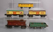 Lionel & Other O Scale Assorted Prewar Freight Cars: 1682, 902, 1679, 80982, 267