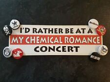 My Chemical Romance Badge/Button Sticker Pack