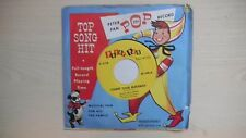 Peter Pan Pop Record COUNT YOUR BLESSINGS 45rpm 1955