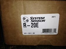 New listing New System Sensor R-20E Dpdt Relay With Activation Led Nib! (25+ Available)