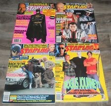 FREE Shipping Lot of 4 Vintage Starlog Magazines Late 80s Early 90s Batman