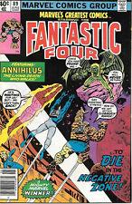 Marvel's Greatest Comics Comic Book #89 Fantastic Four 1980 Fine+