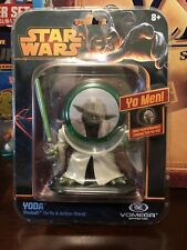 Star Wars Yoda Fireball Yomega - Yo Yo And Action Stand!!