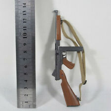 "1/6 Scale Thompson M1A1 Submachine Gun Model for 12"" Action Figure Accessories"