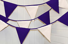 Navy Blue and White bunting * 10 mtr * Party / Birthday / Wedding / Christmas