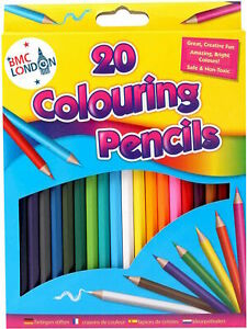 Professional Premium 20 Colouring Pencils Artists Quality Colour Therapy in box