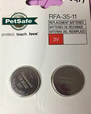New listing Petsafe 2Pk 3Volt Replacement Battery Rfa-35-11