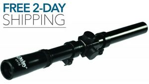 BB PELLET GUN AIR RIFLE SCOPE 4x15mm Hunting Daisy Powerline NEW FREE 2-DAY SHIP