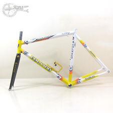 "1990 S 28"" Colnago Dream Lux Airplane Pro Racing Set Road Bike Frame 53/56 cm"