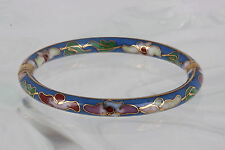 COSTUME CHILD'S COLOSONNEL ENAMEL HINGED BANGLE BRACELET FASHION 3417