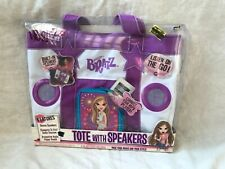 MGA Bratz Tote With Speakers Connect Your MP3 Player New in Box