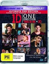 One Direction - This Is Us (Blu-ray, 2013, 2-Disc Set)