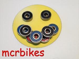 608 Inline Skate/ Skateboard Wheel Bearings Chrome/ Stainless/ Ceramic 8x22x7mm
