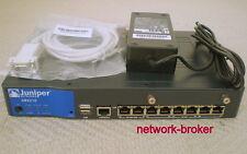 Juniper srx210he 2xge+6xfe ports 1 xmini-pim slot 1xexp-card slot 1gb ram/Flash