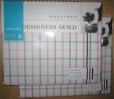 DESIGNERS GUILD Breakfast Pillowcase Pair PAVONIA PEONY New
