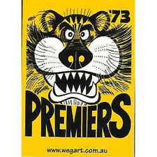 WEG - 1973 Richmond Tigers AFL/VFL Card Set (22) #NEW