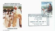 Madagascar 1989 Jan Pawel II papież John Paul Pope Papa Giovani Paolo (89/8)