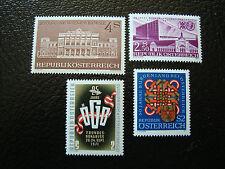 AUTRICHE - timbre - yvert et tellier n° 1196 a 1199 n** - stamp austria (A3)