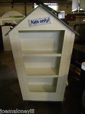 Retail Shelving Unit Kids Clubhouse Or Dog House Merchandise Display