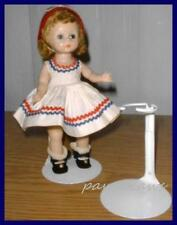"KAISER White Doll Stand for 8"" Madame Alexander GINNY Riley U.S. Ships Free"