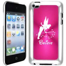 Pink Apple iPod Touch 4th Generation 4g Hard Case Cover B09 Fairy Believe