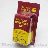 "18"" inch Bike Tube Kids Bicycle Tire Inner Interior tube 18 x 1.75 - 2.125 NIP"